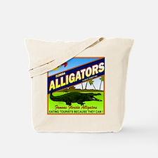 ENJOY ALLIGATORS Tote Bag