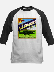 ENJOY ALLIGATORS Kids Baseball Jersey
