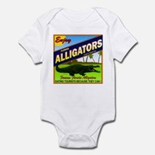 ENJOY ALLIGATORS Infant Bodysuit