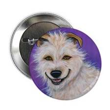 """Terrier Mix """"Charlie"""" 2.25"""" Button (10 pack)"""
