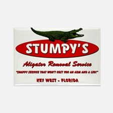 STUMPY'S GATOR REMOVAL SERVIC Rectangle Magnet