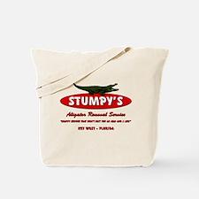 STUMPY'S GATOR REMOVAL SERVIC Tote Bag