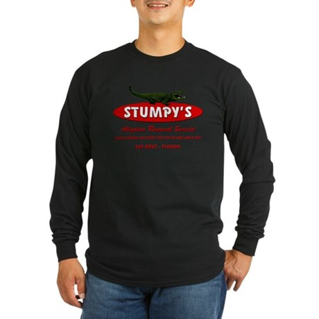 STUMPY'S GATOR REMOVAL SERVIC Long Sleeve Dark T-S