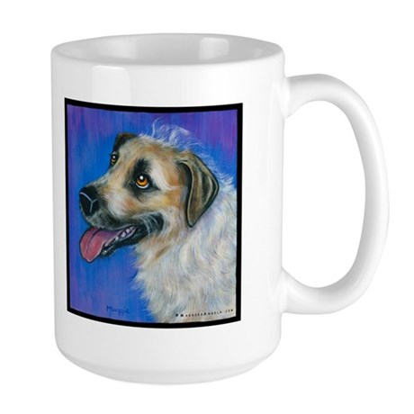 "Wolf Hound ""Riley"" Large Mug"