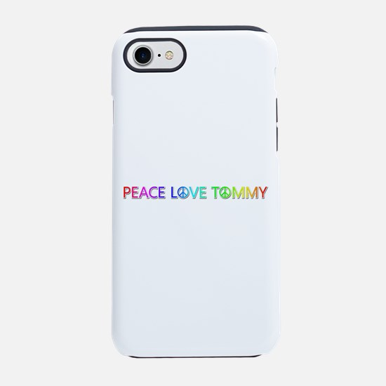 Peace Love Tommy iPhone 7 Tough Case