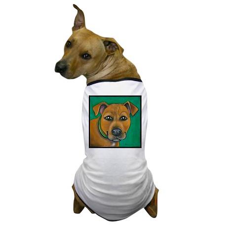 "Pit Bull Mix ""Toby"" Dog T-Shirt"