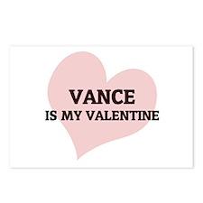 Vance Is My Valentine Postcards (Package of 8)