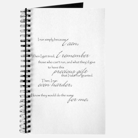 run even harder Journal