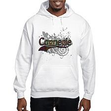 Carnegie Tartan Grunge Hoodie