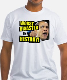 Obama-Worst-Disaster-in-History Shirt