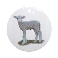 Cute Dorset Ornament (Round)