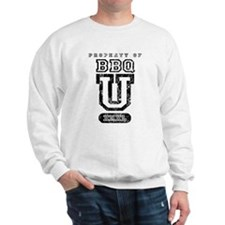 BBQ U (Distressed) Sweatshirt