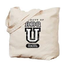 BBQ U (Distressed) Tote Bag