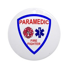 Cute Paramedic Ornament (Round)