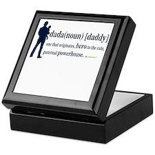 Dada (Daddy) Stay at Home Dad Keepsake Box