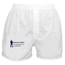 Dada (Daddy) Stay at Home Dad Boxer Shorts