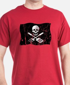 Grill Pirate (Distressed) T-Shirt
