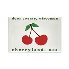 cherryland (cherries) Rectangle Magnet