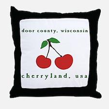 cherryland (cherries) Throw Pillow