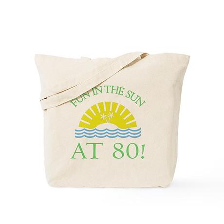 Fun 80th Tote Bag