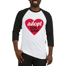 Adopt Don't Shop Baseball Jersey