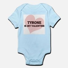 Tyrone Is My Valentine Infant Creeper