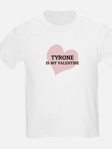 Tyrone Is My Valentine Kids T-Shirt