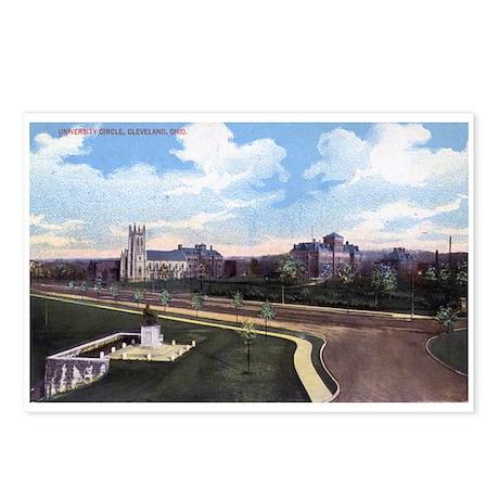 University Circle, Cleveland Ohio 1915 Vintage Pos