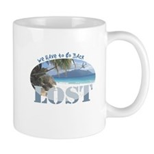 Lost Oval Mug