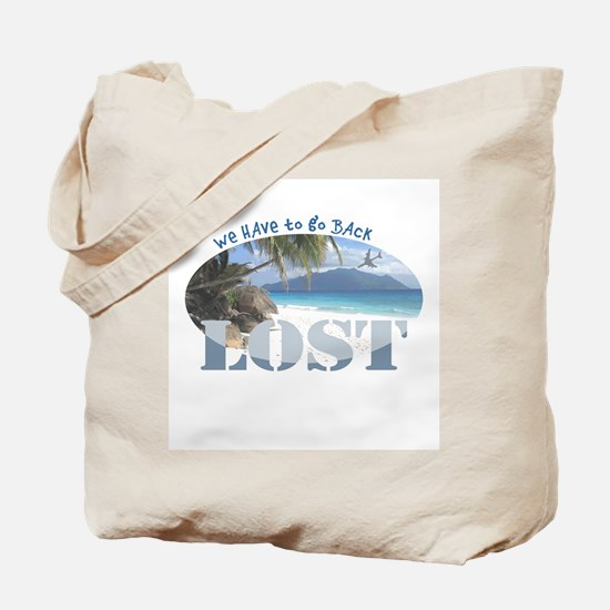 Lost Oval Tote Bag