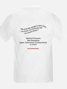 Matthew Thornton T-Shirt