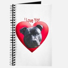 Valentines Staffordshire Bull Journal