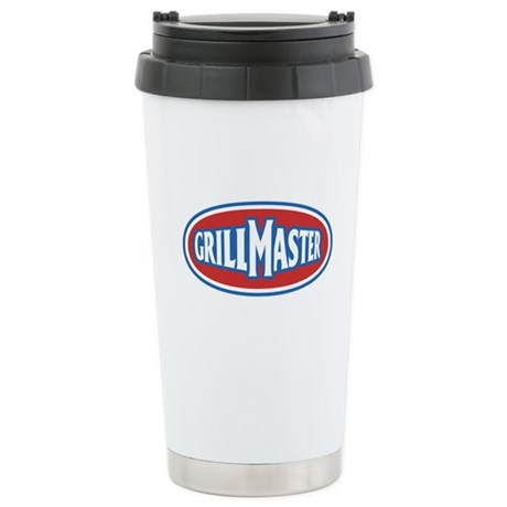 GrillMaster Stainless Steel Travel Mug