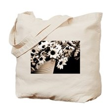 Vienna Market Flowers Tote Bag
