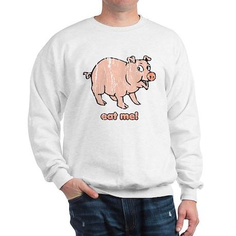 Eat me! (Distressed) Sweatshirt