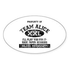 Team Alice Decal