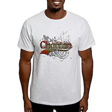 Chattan Tartan Grunge T-Shirt