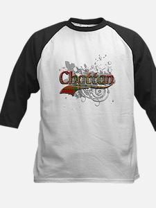 Chattan Tartan Grunge Kids Baseball Jersey