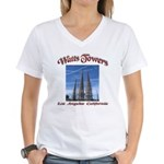 Watts Towers Women's V-Neck T-Shirt