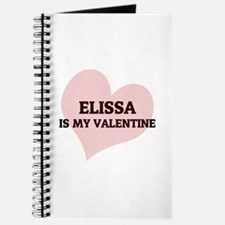 Elissa Is My Valentine Journal