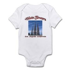 Watts Towers Infant Bodysuit