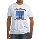 Watts Towers Fitted T-Shirt