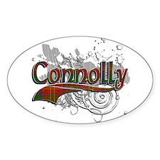 Connolly Tartan Grunge Decal