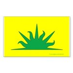 West Kingdom Populace Sticker (Rectangle 10 pk)