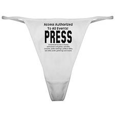 PRESS Classic Thong