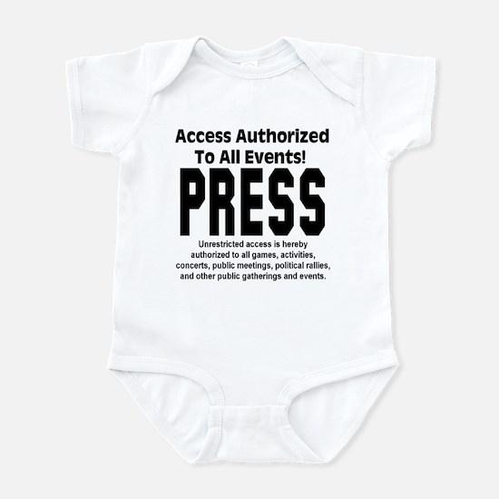 PRESS Infant Bodysuit