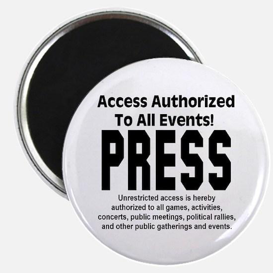 PRESS Magnet