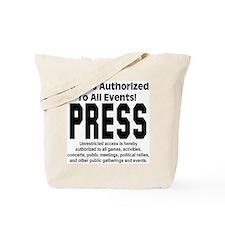 PRESS Tote Bag
