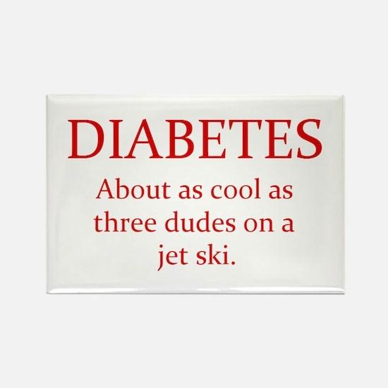 Cute Type 1 diabetes Rectangle Magnet