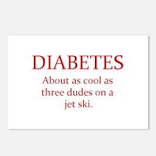 Unique Cure diabetes Postcards (Package of 8)
